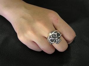 スカルリング ~Standard skull Ring~