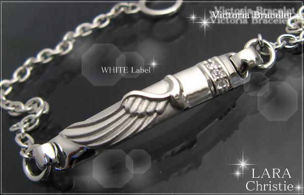 LARA Christie*ララクリスティー Victoria Bracelet ヴィクトリアブレスレット :WHITE Label: