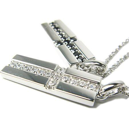 LARA Christie*ララクリスティー Royal Cross Necklace ロイヤルクロスネックレス :PAIR Label: