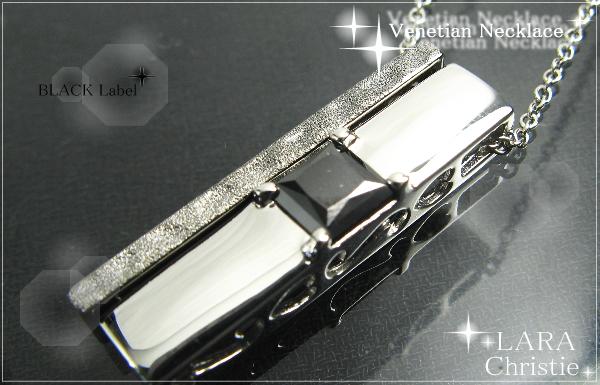 LARA Christie*ララクリスティー Venetian Necklace ヴェネチアンネックレス :BLACK Label: