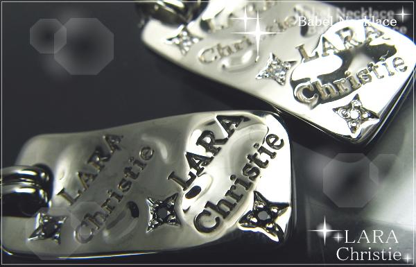 LARA Christie*ララクリスティー Babel Necklace バベルネックレス :PAIR Label: