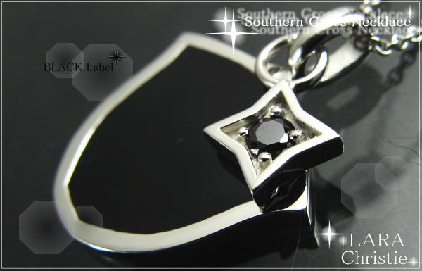 LARA Christie*ララクリスティー Southern Cross Necklace サザンクロスネックレス :BLACK Label:
