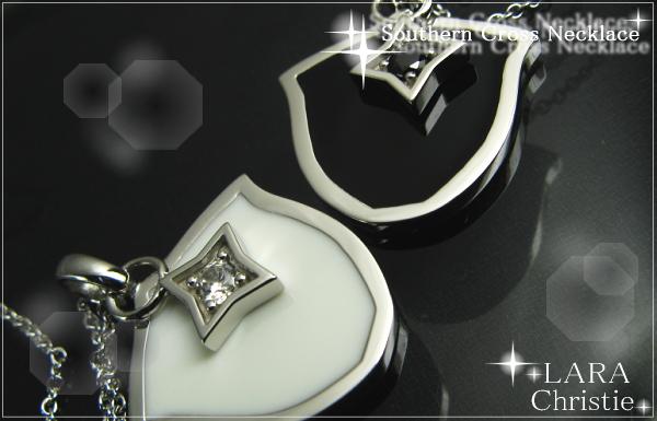LARA Christie*ララクリスティー Southern Cross Necklace サザンクロスネックレス :PAIR Label: