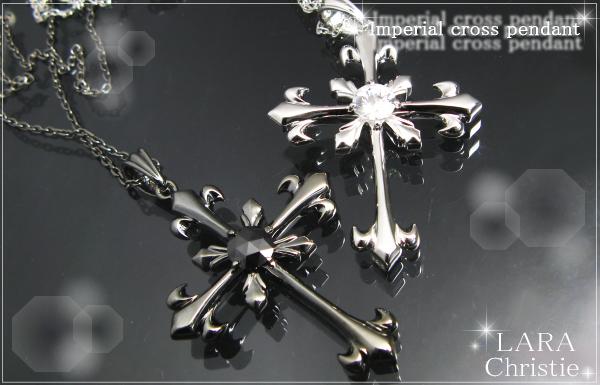 LARA Christie*ララクリスティー Imperial cross Pendant インペリアルクロスペアペンダント :PAIR Label: