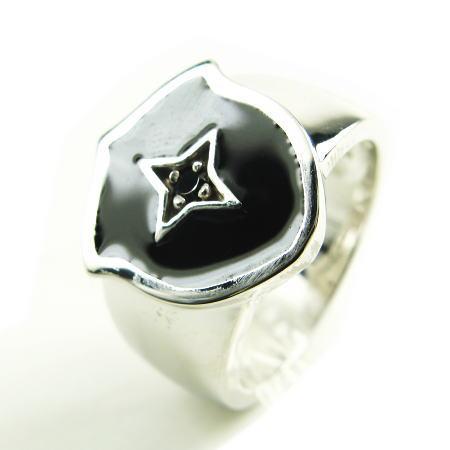 LARA Christie*ララクリスティー Southern Cross Ring サザンクロスリング :BLACK Label: