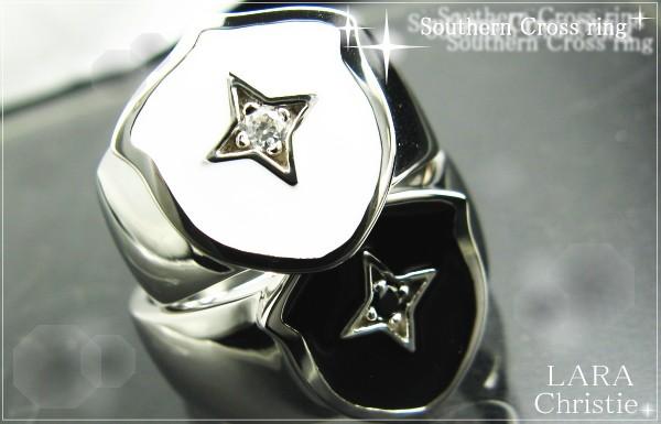 LARA Christie*ララクリスティー Southern Cross Ring サザンクロスリング :PAIR Label: