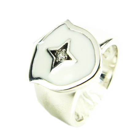 LARA Christie*ララクリスティー Southern Cross Ring サザンクロスリング :WHITE Label: