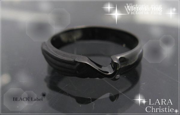 LARA Christie*ララクリスティー Victoria Ring ヴィクトリアリング :BLACK Label:
