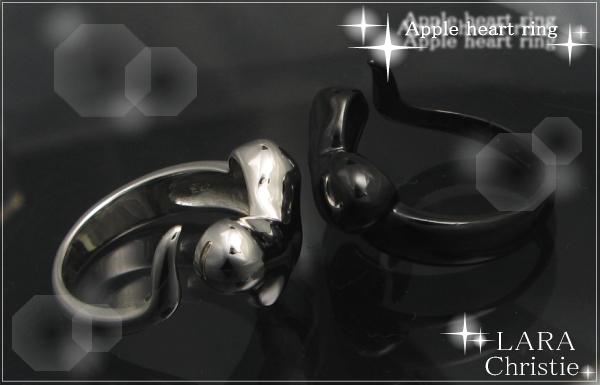 LARA Christie*ララクリスティー Apple heart Ring アップルハートリング :PAIR Label: