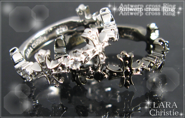 LARA Christie*ララクリスティー Antwerp cross Ring アントワープクロスリング :PAIR Label: