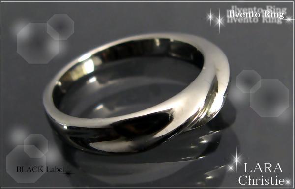 LARA Christie*ララクリスティー Ilvento Ring イルヴェントリング :BLACK Label: