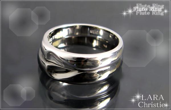 LARA Christie*ララクリスティー Flute Ring フルートリング :PAIR Label: