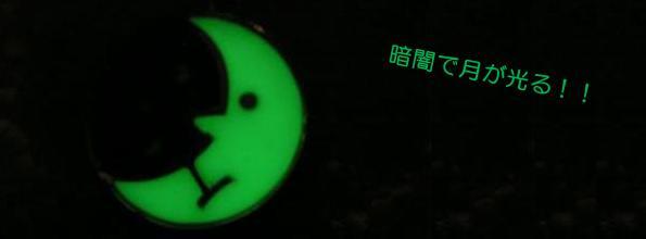 【Pocatello】夜と月ペンダント