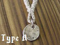 プレート(S)×HEMPネックレス